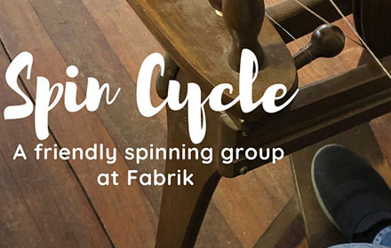 Spin cycle, a friendly spinning group at fabrik